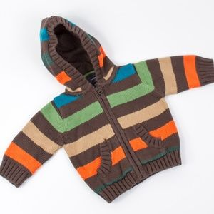 Baby Gap Infant Knit Sweater Hoodie 0-3 months